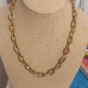 Gold and Silver Chain Stella and Dot Necklace